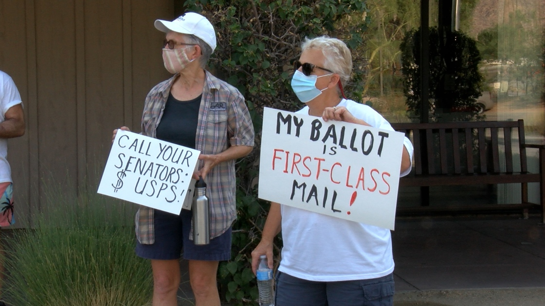 Rallies Take Place Nationwide To Save The U.S. Post Office
