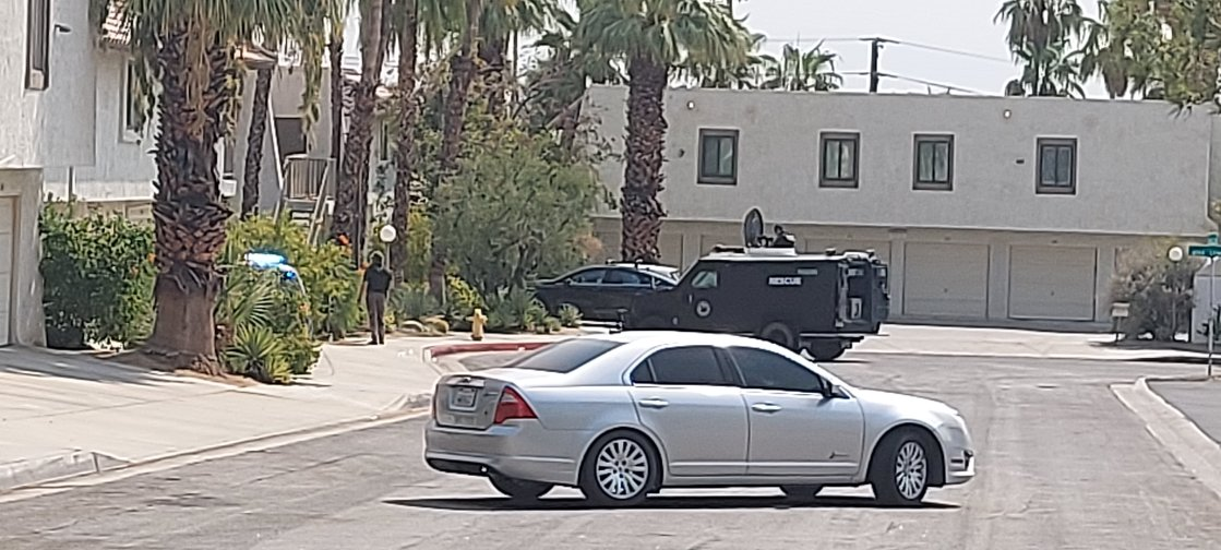 Palm Springs Standoff Suspect Pleads Not Guilty