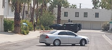 Palm Springs Barricaded Suspect