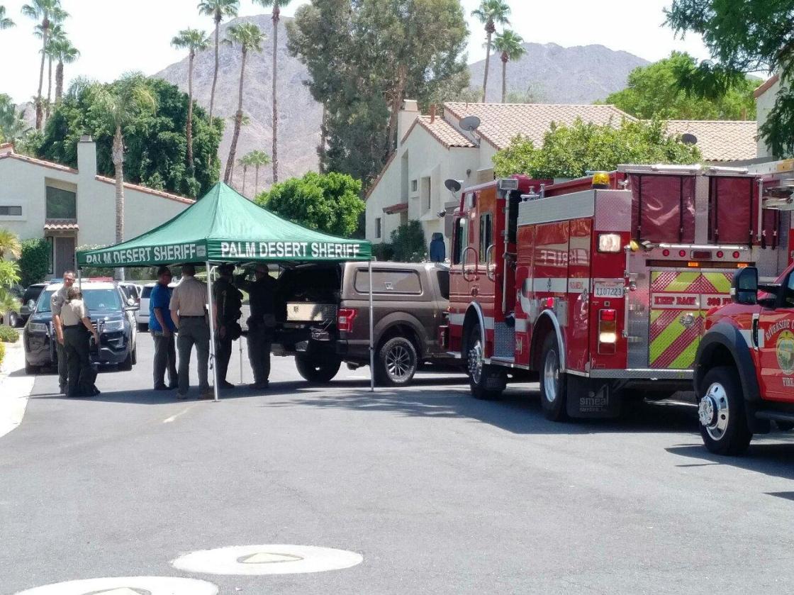 Suspect in custody following barricade in Palm Desert