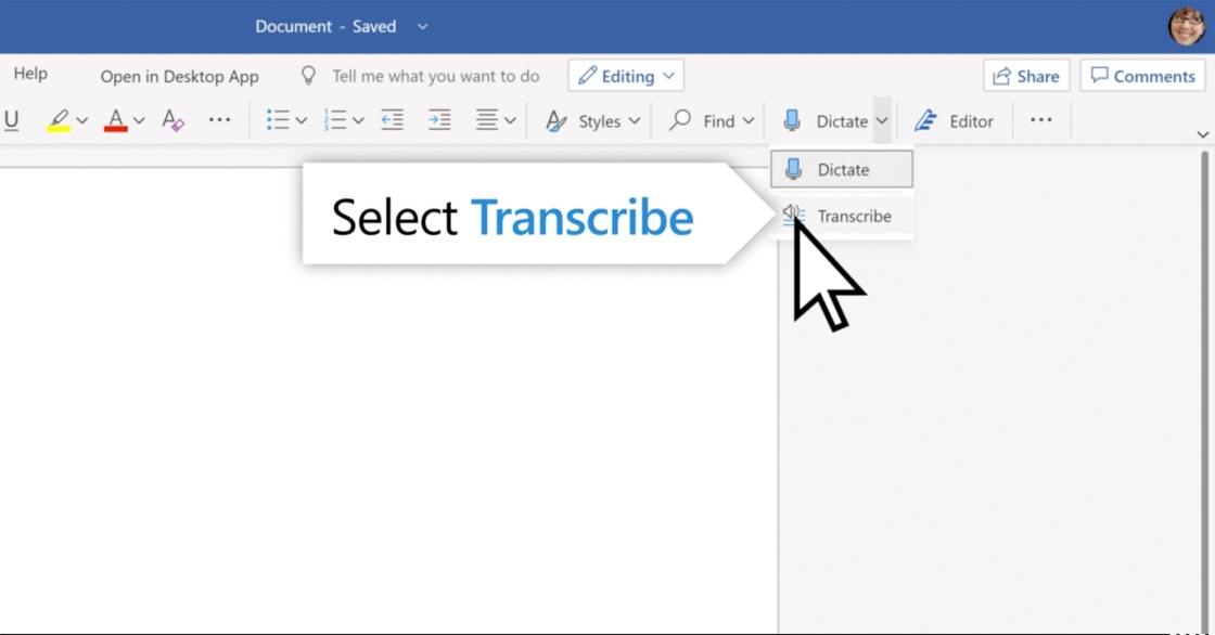Microsoft Word can now transcribe lectures and phone calls