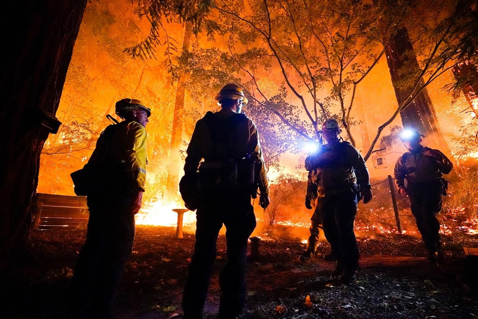 California's Wildfire Season Has Potential to Last Through Winter