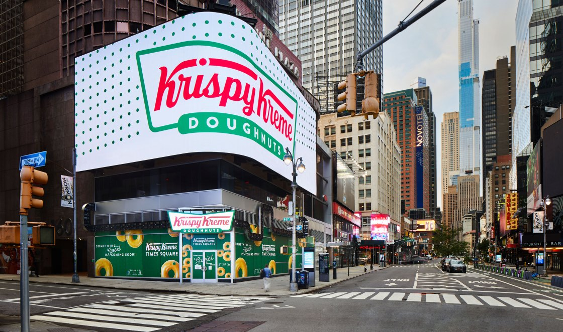 Inside Krispy Kreme's insane new location in Times Square