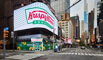 Inside Krispy Kreme's insane new location in Times Square