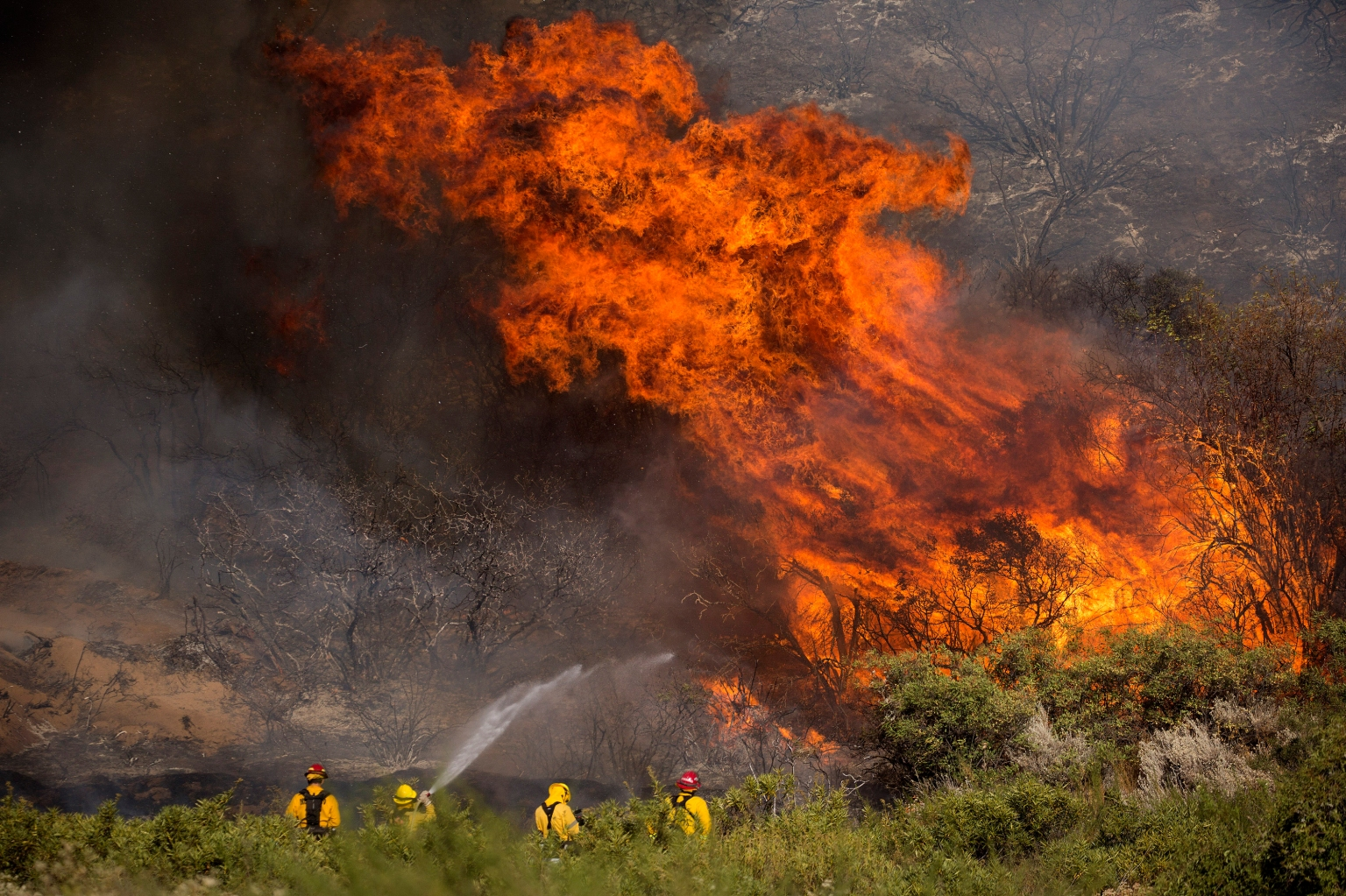 Heat Wave Making Dangerous Fire Conditions Worse