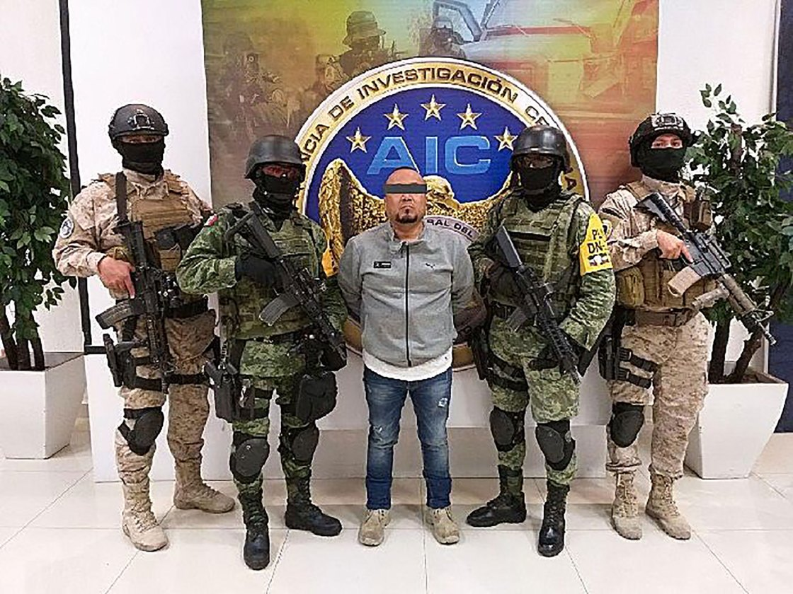 "Mexican security forces arrest ""El Marro,"" alleged leader of the Santa Rosa de Lima Cartel"