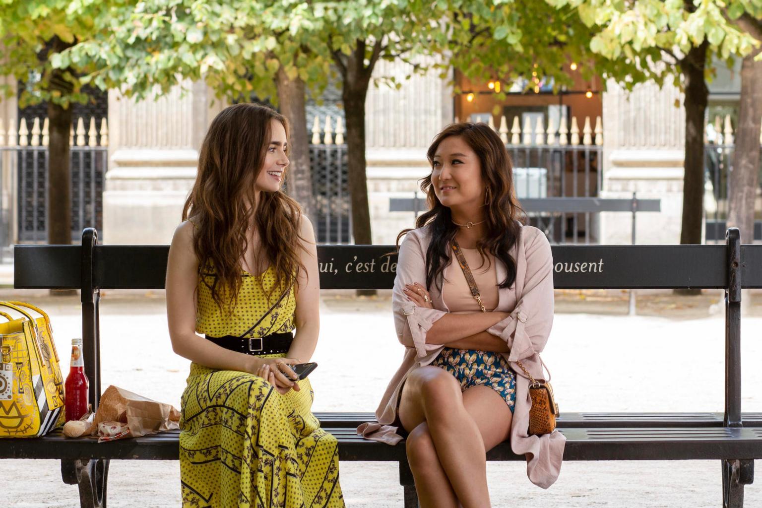 """Go Behind the Scenes of Netflix's """"Emily in Paris"""""""