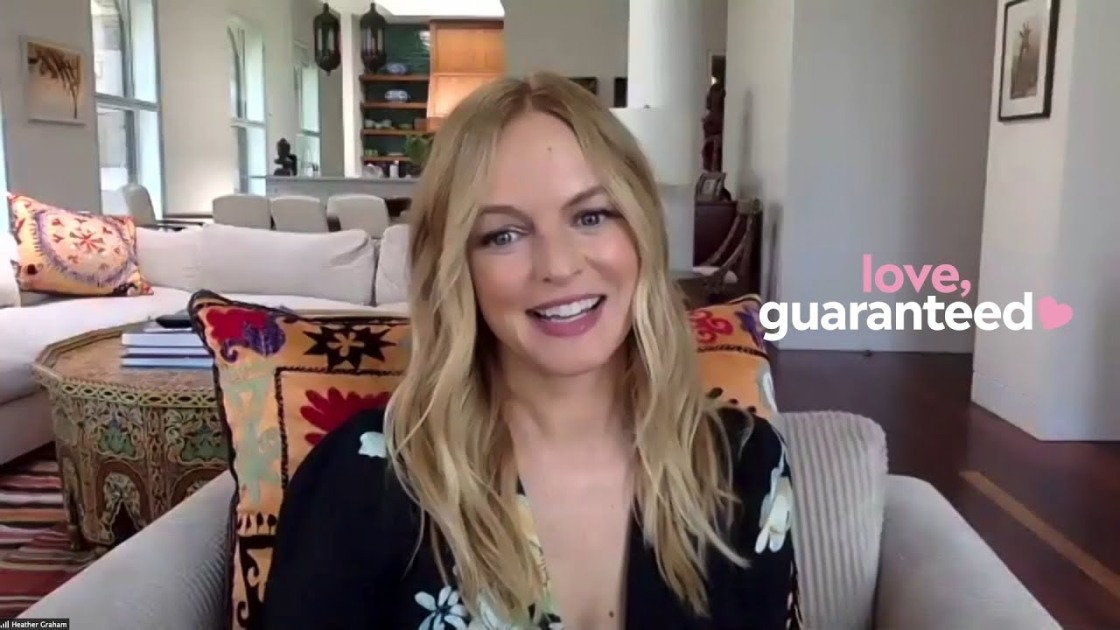 "Heather Graham Talks About ""Love, Guaranteed"""