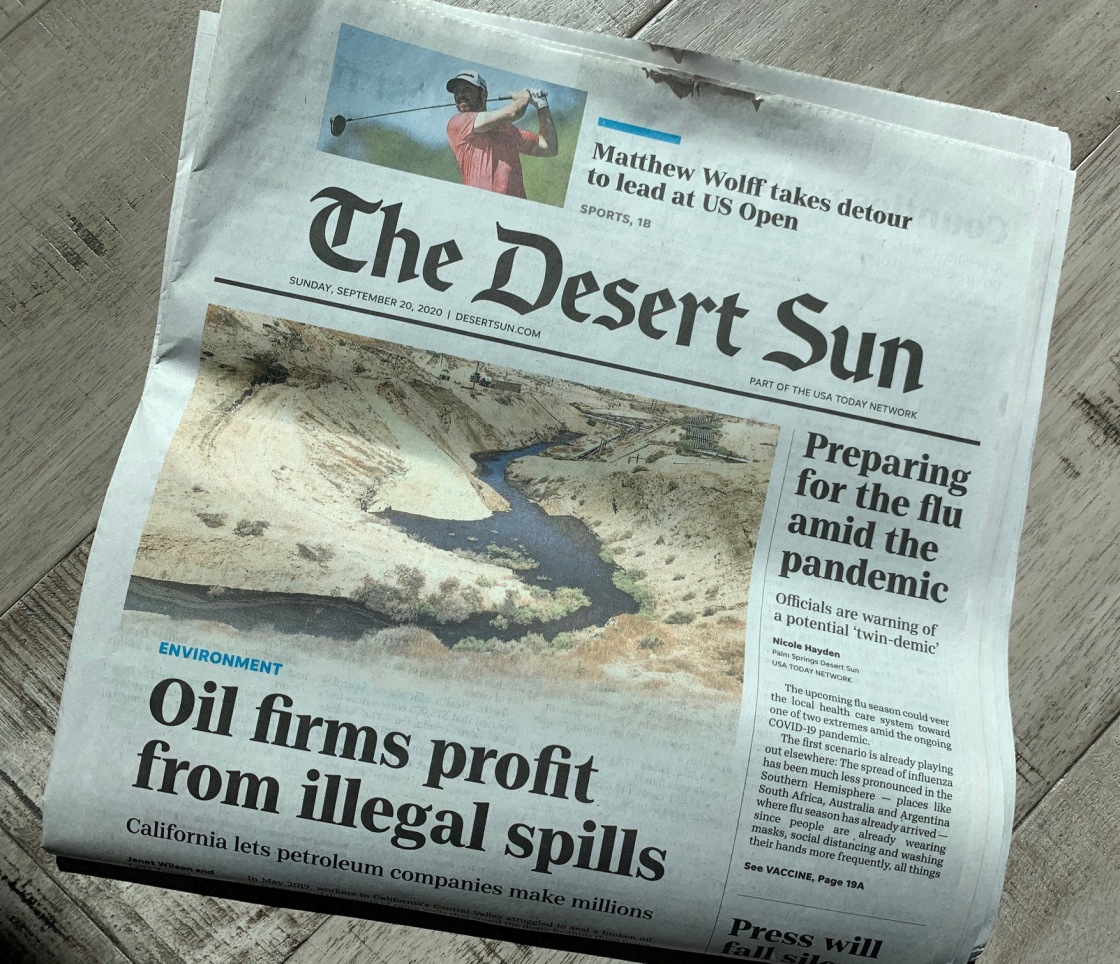 Stop the presses! The Desert Sun ceases printing at its Palm Springs headquarters