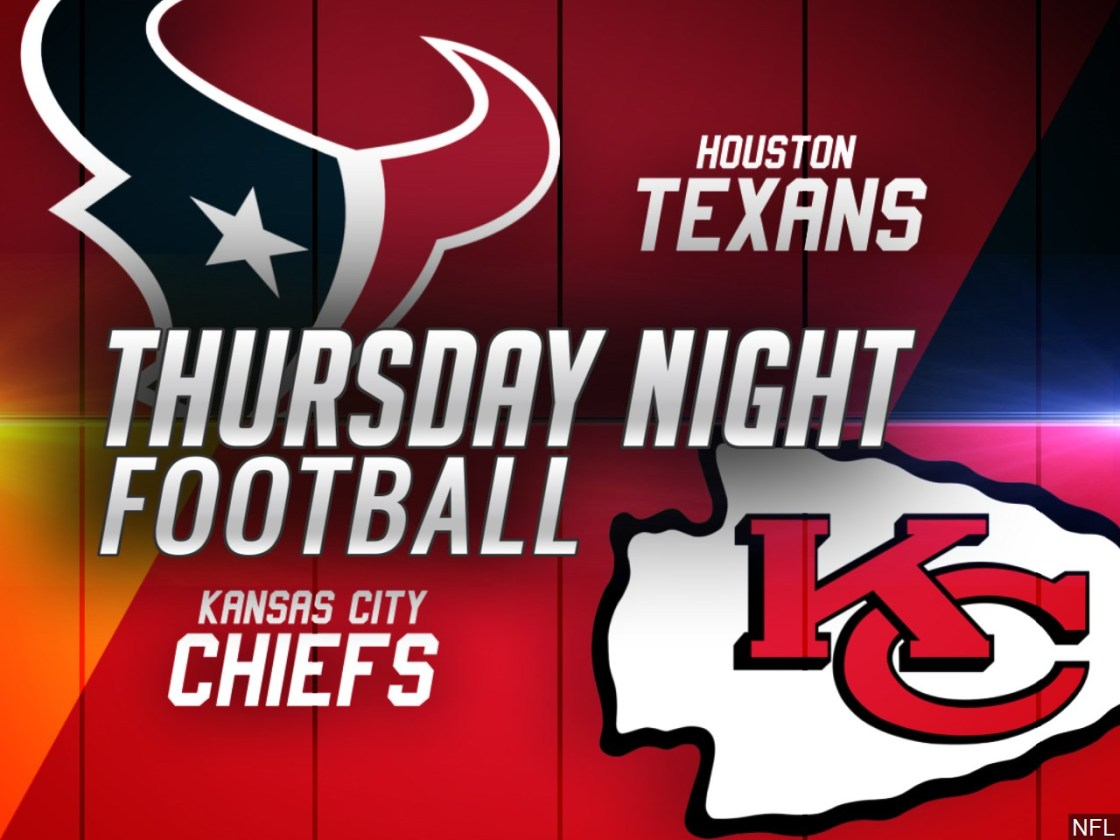 Kansas City Chiefs take on the Houston Texans tonight in the NFL season opener