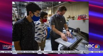 NBCares Silver Linings: Local Kids Make Face Shields