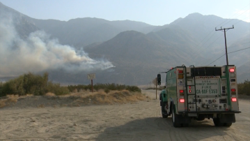 Full Containment Expected Oct. 1 For Snow Fire Burning Near Palm Springs