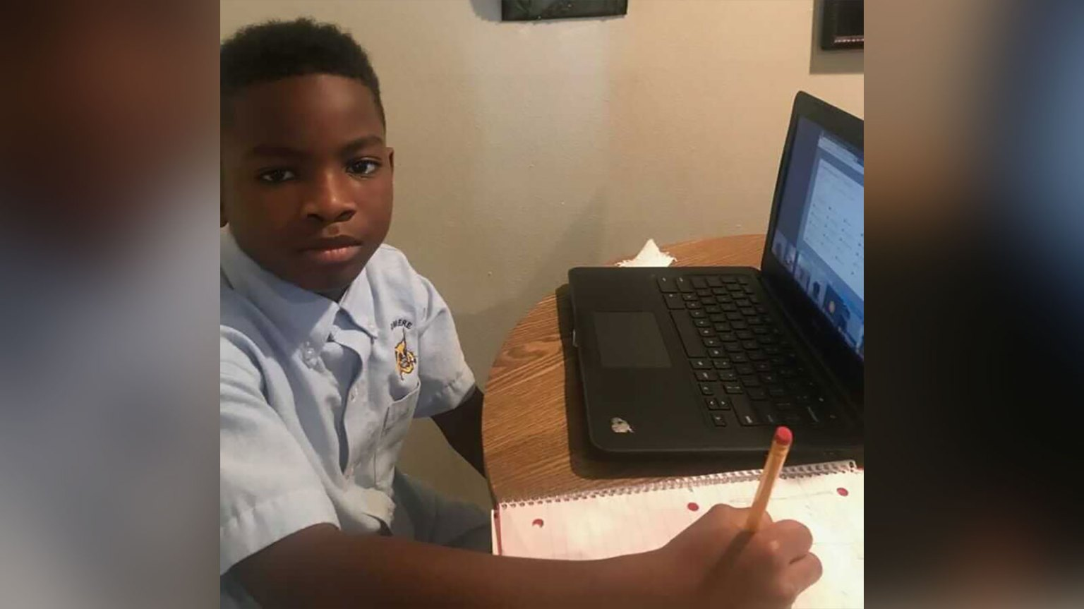 4th grader suspended for having a BB gun in his bedroom during virtual learning
