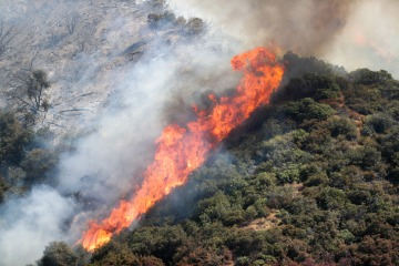 Evacuation Warnings Issued For Fire Burn Scar Areas
