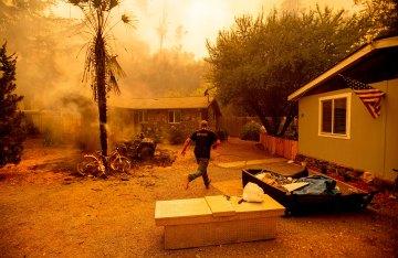 Update on Fires Burning Across California