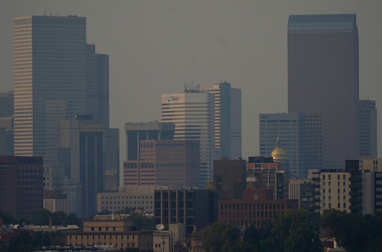 Denver is under a winter weather advisory two days after the city hit 101 degrees