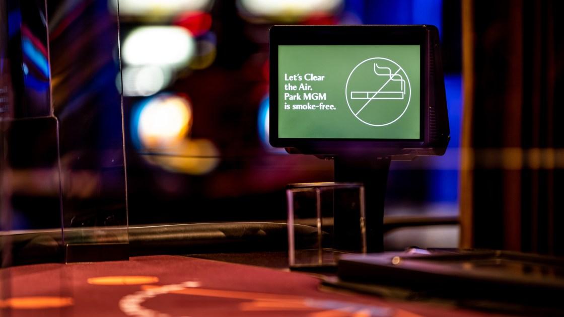 Las Vegas Strip will see its first smoke-free casino