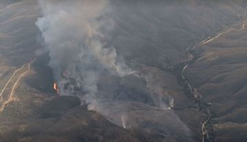 New Fire Breaks Out in LA County, Burns 200 Acres in 30 Minutes