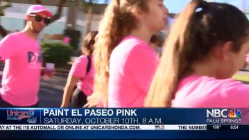 NBC Cares: Paint El Paseo Pink 2020
