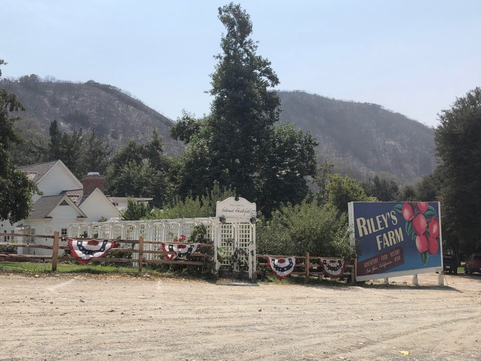 Riley's Farm refuses visit from Gov. Newsom amid fire outbreak