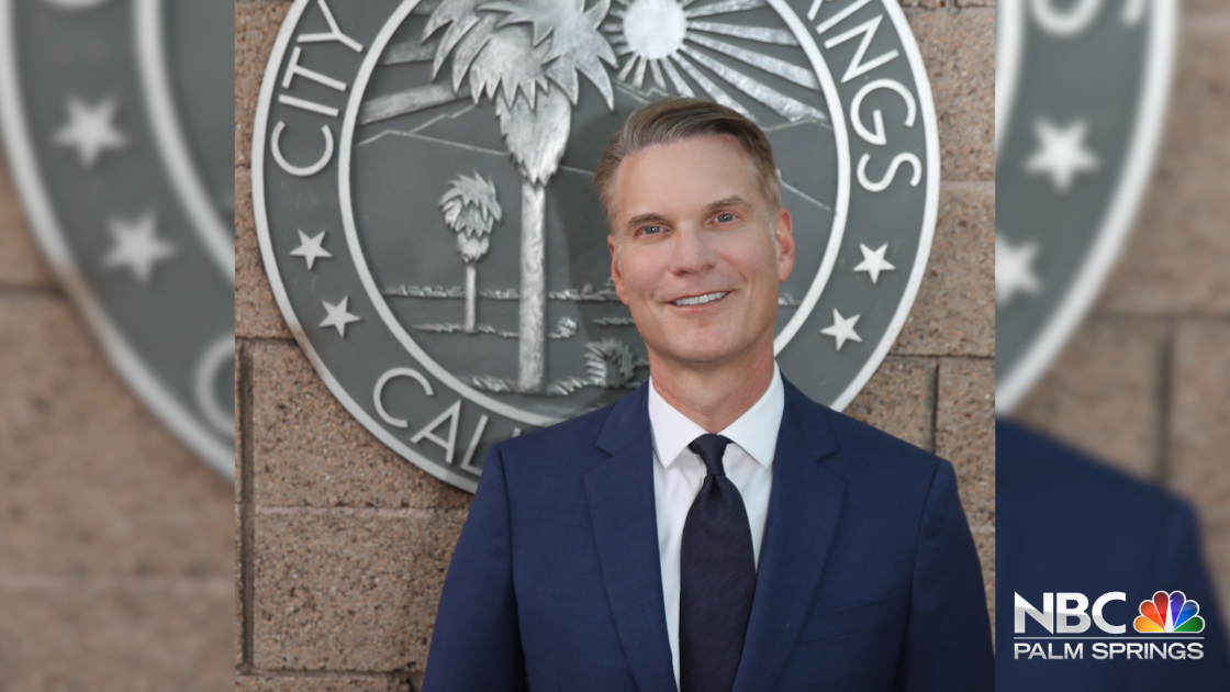 Palm Springs City Manager receives prestigious award from League of California Cities