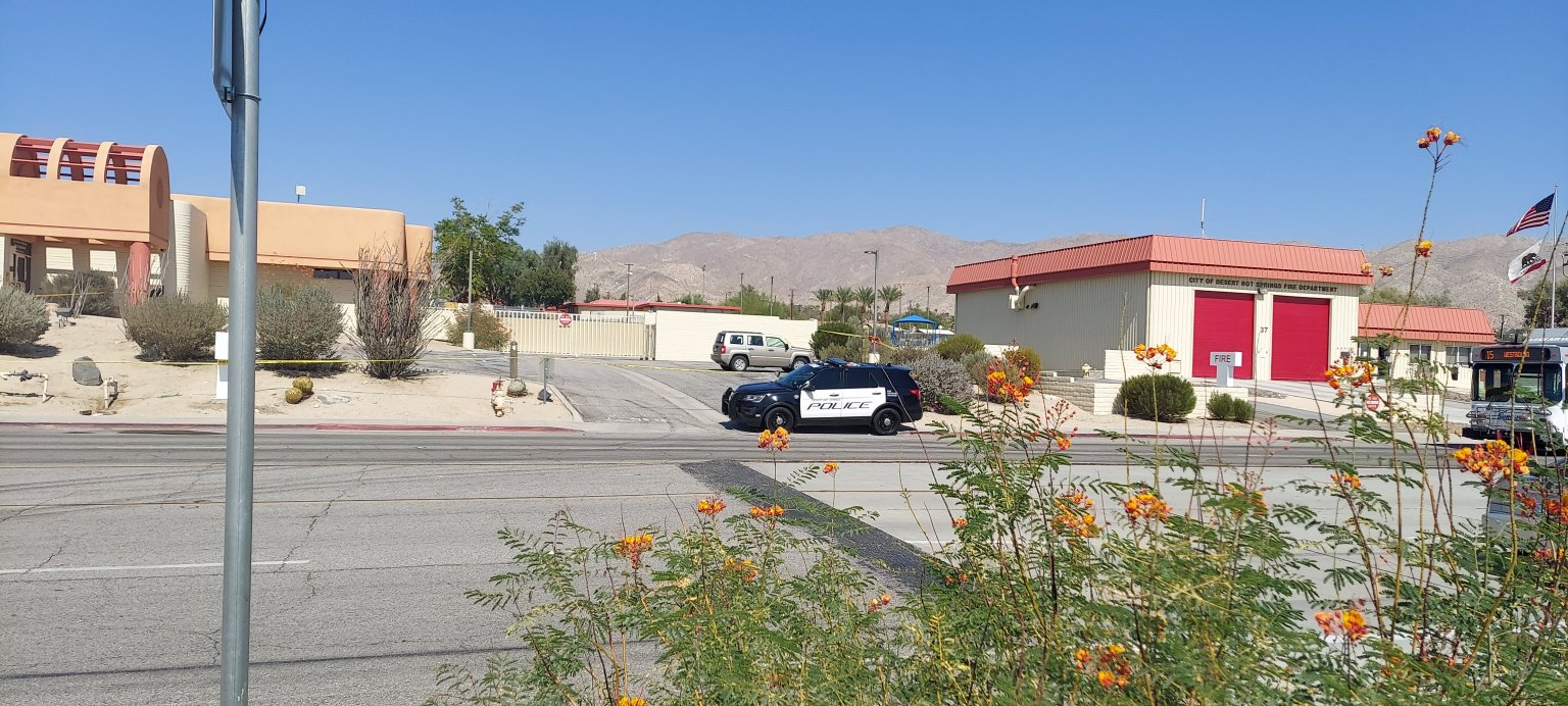 Man Found Dead in Local Police Parking Lot