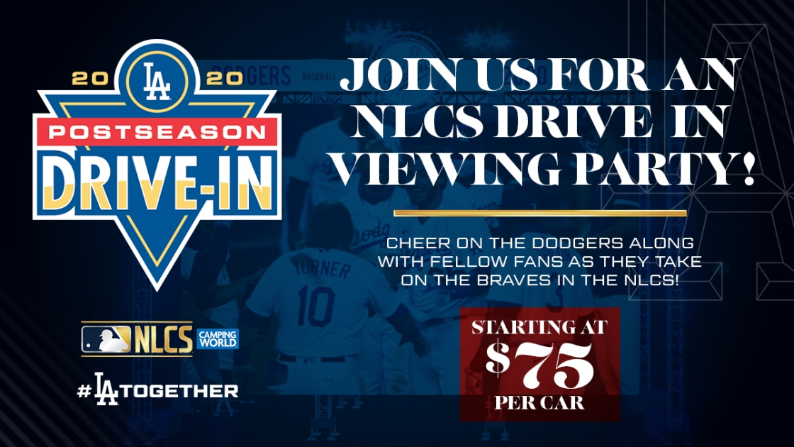 Dodgers hosting Drive-In Screenings for NLCS