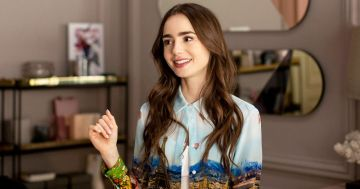 "The Creator and His Star:  Darren Star and Lily Collins on ""Emily in Paris"""