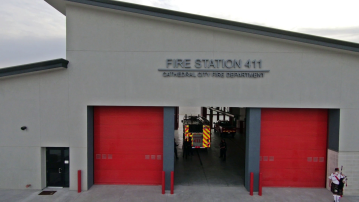 New Fire Station Dedicated in Cathedral City