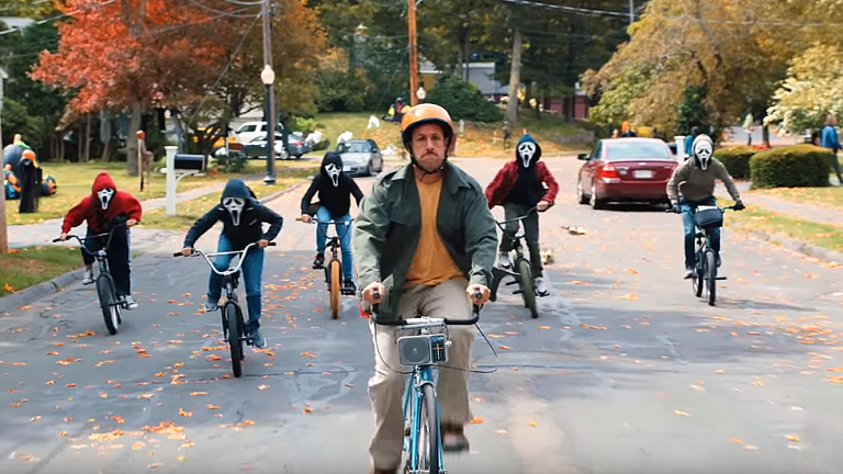"Go Inside Netflix's ""Hubie Halloween"""