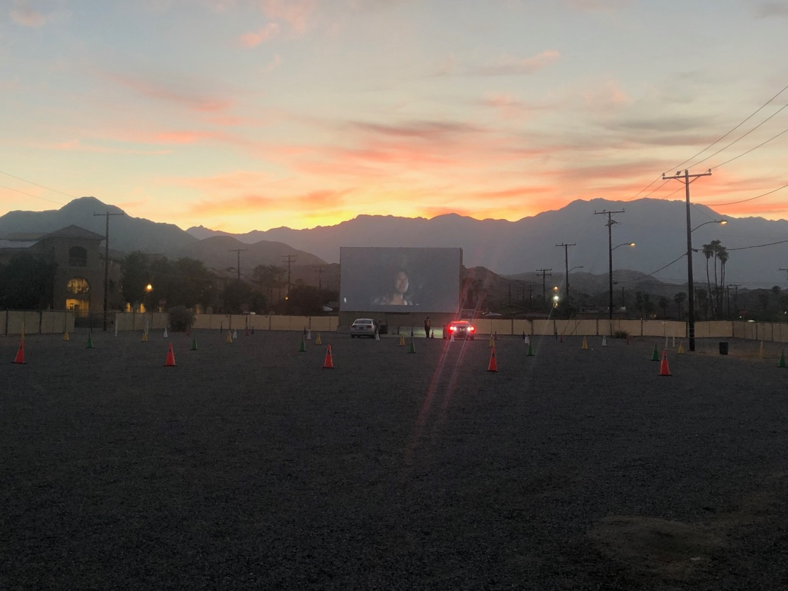 Drive-In Movies in Cathedral City