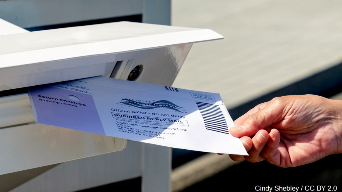 Record numbers are voting by mail. Here's when states can start processing those ballots.