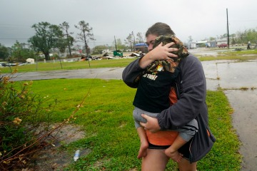 Hurricane Delta leaves two dead in Louisiana and knocks out power for hundreds of thousands