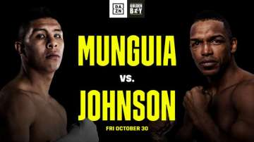 Tureano Johnson and Jaime Munguia Throw Down on Oct. 30th at Fantasy Springs