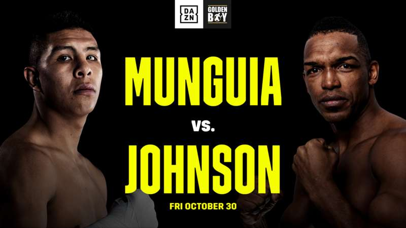 Tureano Johnson and Jaime Munguia Throw Down on Oct. 30th at Fantasy Springs