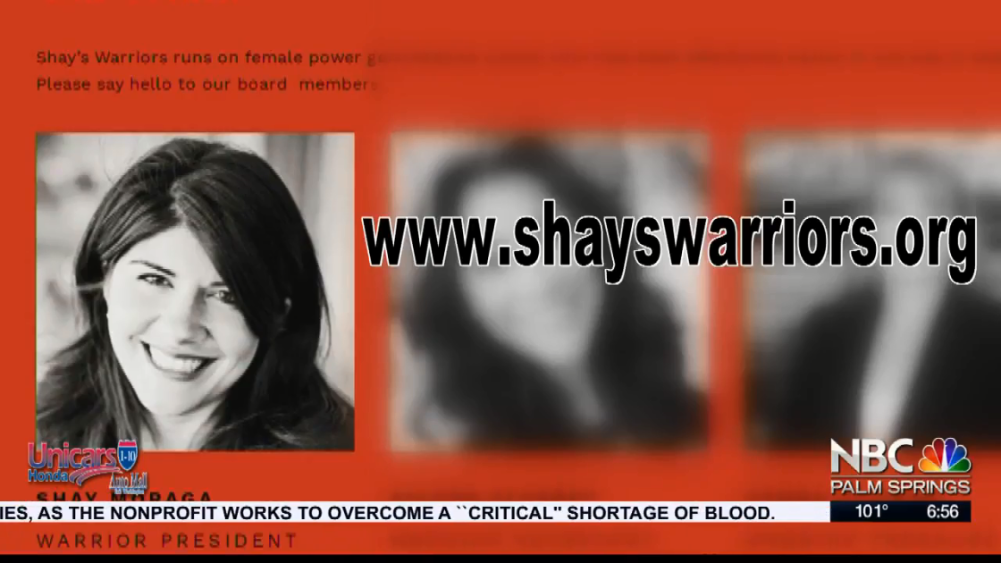 NBC Cares Silver Linings: Shay's Warriors Paint El Paseo Pink Virtually