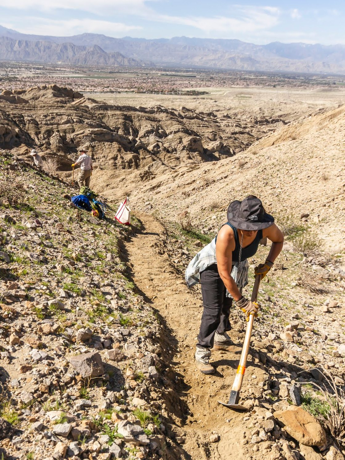 City Celebrates Revamped Indio Hills Trail