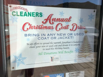 Local Business Collects Coats for Valley Residents in Need