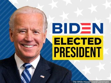Joe Biden is the 46th President of the United States, NBC News projects