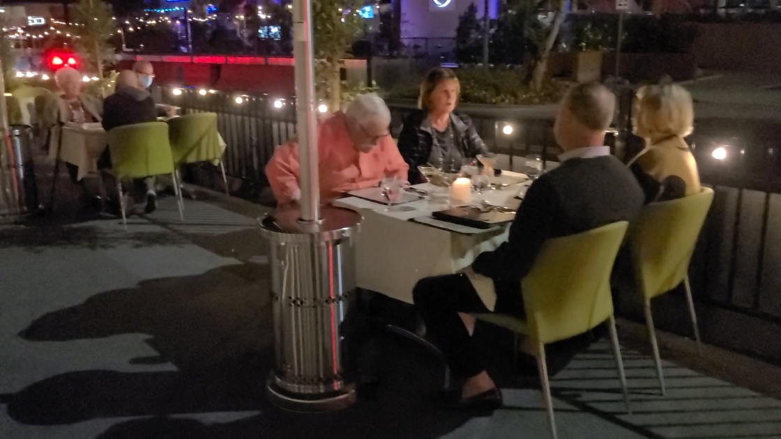 Businesses Turn To Parklet Dining To Attract Customers