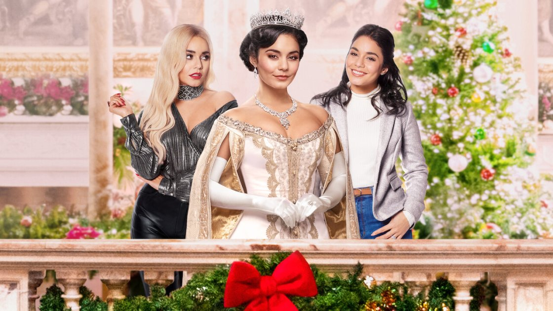 """Manny the Movie Guy Interviews Vanessa Hudgens for """"The Princess Switch: Switched Again"""""""