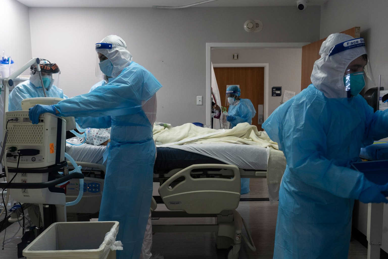 Riverside County Reports Nearly 50% Increase in COVID ICU Patients