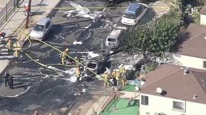 Pilot Killed in Civil Air Patrol Plane Crash near Whiteman Airport in Pacoima