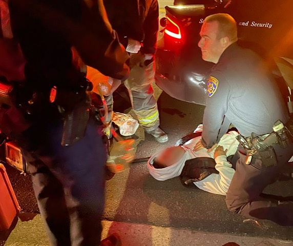 CHP Officers Save Suspect Suffering Opioid Overdose During Arrest