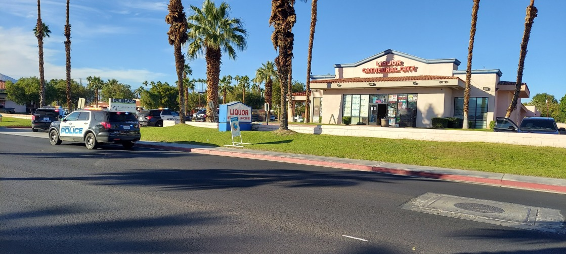 Police Investigating Shooting Near Cathedral City Shopping Center