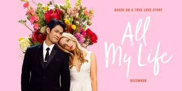 "Jessica Rothe and Harry Shum Jr. Talk to Manny the Movie Guy About True-Life Drama ""All My Life"""