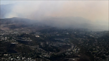 House Fire Sparks Brush Fire in Silverado Canyon, 7,200 Acres Burned