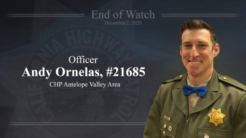 Mourners Remember CHP Officer Fatally Injured In Palmdale Motorcycle Crash