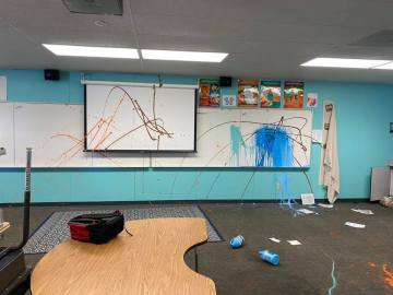 Gerald Ford Elementary in Indian Wells Vandalized