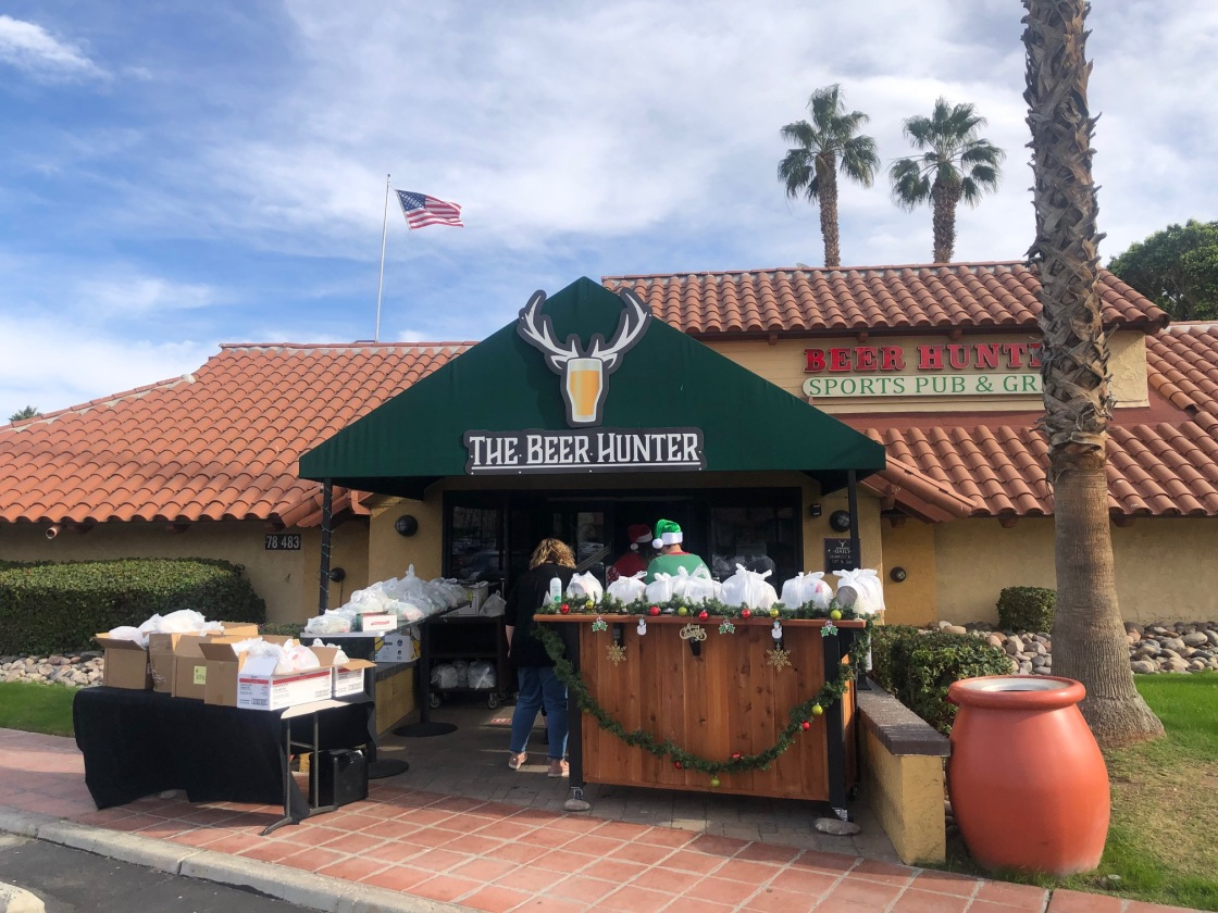 The Beer Hunter Holiday Meal Distribution